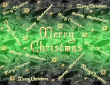 Christmas Background Green Royalty Free Stock Image