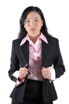Free Office Lady Portrait Royalty Free Stock Photo - 6783075