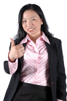 Successful, Young Businesswoman Stock Image
