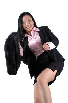 Free Happy, Asian Businesswoman Stock Photography - 6783132