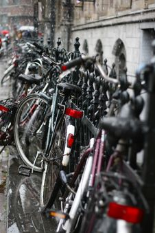 Free Bicycles Royalty Free Stock Photography - 6783447