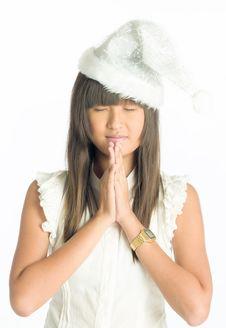 Free Christmas Prayer Stock Image - 6783521