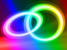Free Splendid Light Ring Wallpaper Stock Photo - 6783570