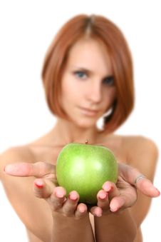 Free Fresh Green Apple Stock Images - 6784084