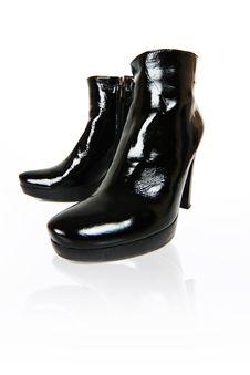 Free Black Boots Stock Image - 6784271
