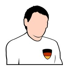 Free German Football Player Royalty Free Stock Image - 6785076