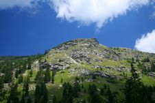 Free Peak In Rila Royalty Free Stock Image - 6786006