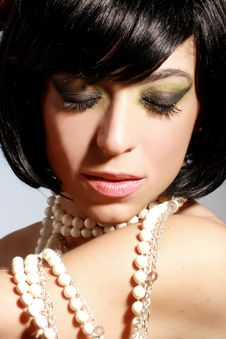 Free Glamour Makeup Royalty Free Stock Photography - 6786137