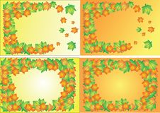 Free Autumn Floral Background Stock Images - 6786704