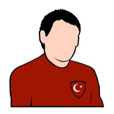 Free Turkish Football Player Royalty Free Stock Photography - 6786897