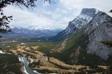 Free Banff Mountains Royalty Free Stock Image - 6787026