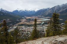 Free Banff Mountains Royalty Free Stock Photo - 6787045