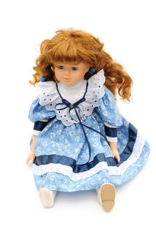Vintage Doll Stock Photo