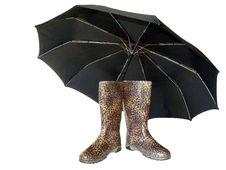 Rainy Weather Outfit Stock Photos