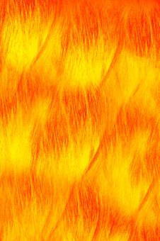 Fire Theme Yarn Background Stock Photography
