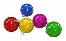 Free Christmas Balls Royalty Free Stock Photography - 6788837