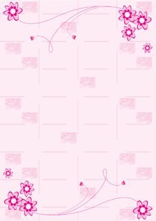 Free Floral Background. Royalty Free Stock Photos - 6788958