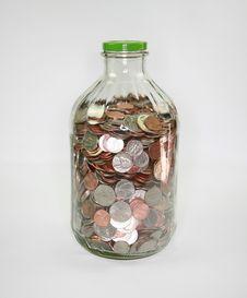 Free Money Jar Royalty Free Stock Images - 6789009