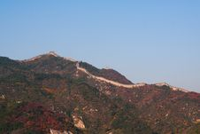 Free The Great Wall In China Royalty Free Stock Images - 6789039