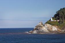 Free View With A Lighthouse Stock Photo - 6789040