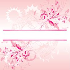 Free Floral Background. Royalty Free Stock Photo - 6789125