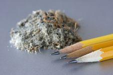 Free Three Pencils Stock Photo - 6789130