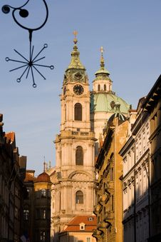 Free Prag Baroque Church Stock Image - 6789731