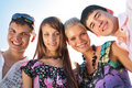 Free Portrait Of Group Of Friends Royalty Free Stock Images - 6791089