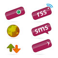 Free Web And Communication Icons. Stock Photography - 6792322
