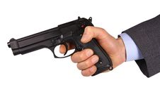 Free Hand Hold Pistol Stock Images - 6790084