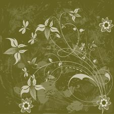 Free Floral Background. Royalty Free Stock Images - 6790099