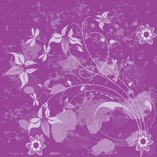 Free Floral Background. Stock Image - 6790191