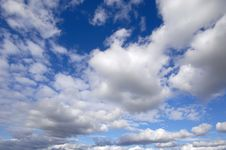 Free Cumulus Clouds Stock Photos - 6790253