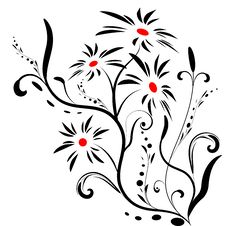Free Floral Banner Vector Stock Photo - 6790880