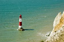 Free Beachy Head Lighthouse Royalty Free Stock Photo - 6790935
