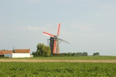 Free Windmill In French Flanders Royalty Free Stock Photo - 6791085