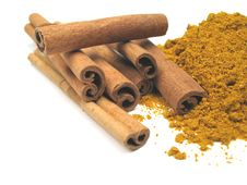 Free Cinnamon And Curry Stock Images - 6791314