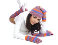 Free Winter Girl Stock Photography - 6791562