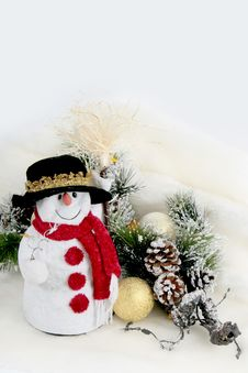 Free Snowman Royalty Free Stock Photography - 6791597