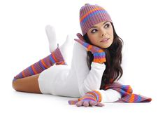 Free Winter Girl Stock Image - 6791651