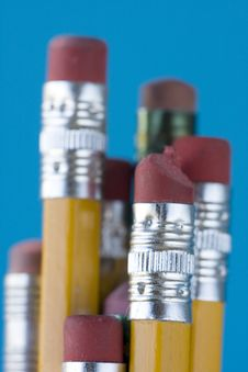 Free Pencil Erasers Stock Photography - 6791672