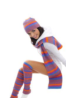 Free Winter Girl Royalty Free Stock Image - 6791806