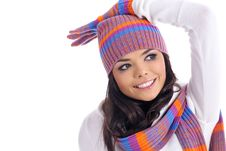 Free Winter Girl Stock Image - 6791841