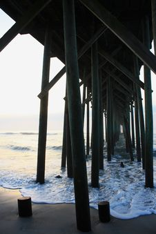 Artistic Pier Stock Image