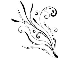 Free Floral Banner Vector Royalty Free Stock Photos - 6792558