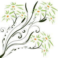 Free Floral Banner Vector Stock Photos - 6792683
