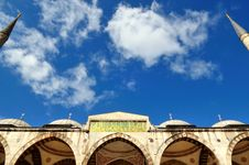 Free The Blue Mosque Royalty Free Stock Image - 6792786
