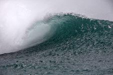 Free Hawaiian Southshore Wave Royalty Free Stock Photos - 6792838