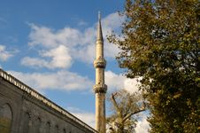 Free The Blue Mosque Royalty Free Stock Images - 6792879