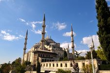 Free The Blue Mosque Stock Photography - 6793102